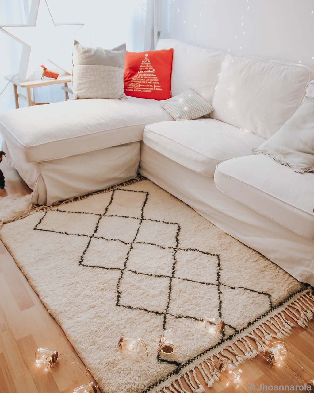 nice sofa and lights from morocco cream rugs