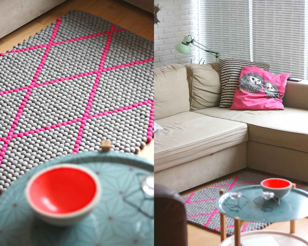 patterned rug design