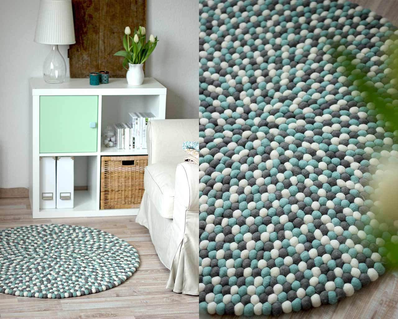 blog custom rug blue design pictures