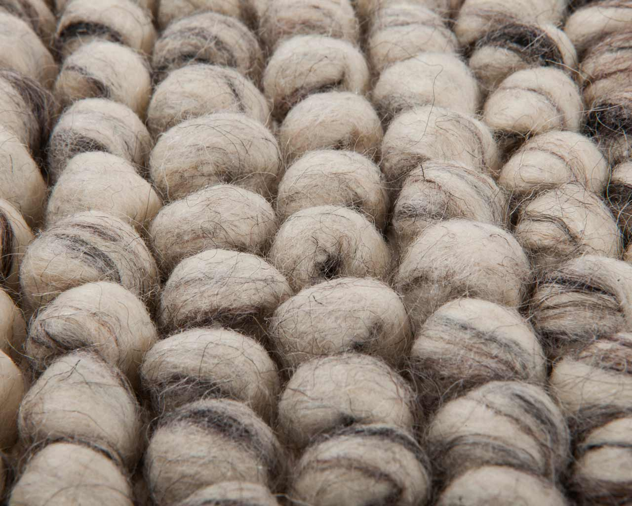 making yourself woolen carpet white grey