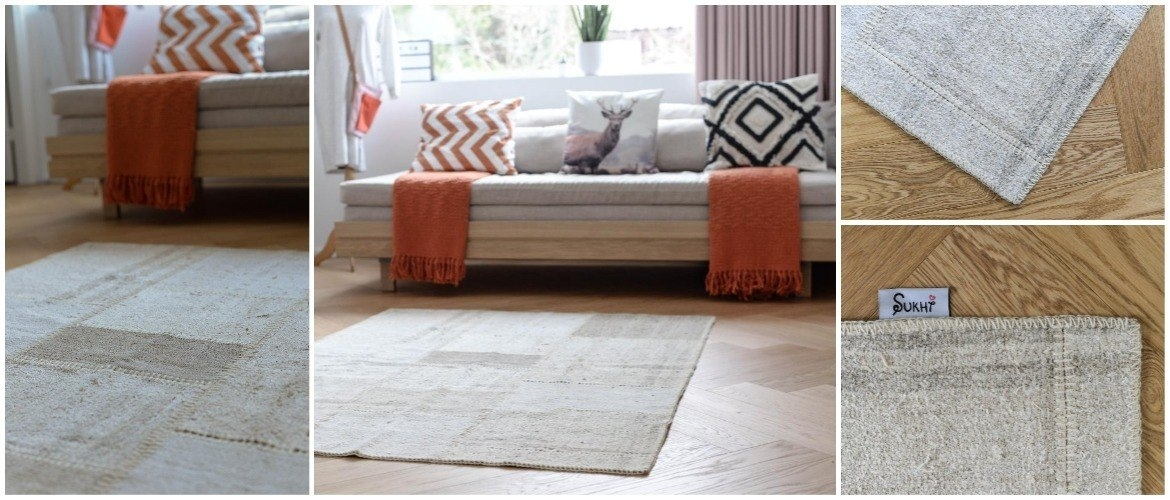 Turkish-patchwork-hemp-rug-in-living-room-with-close-up