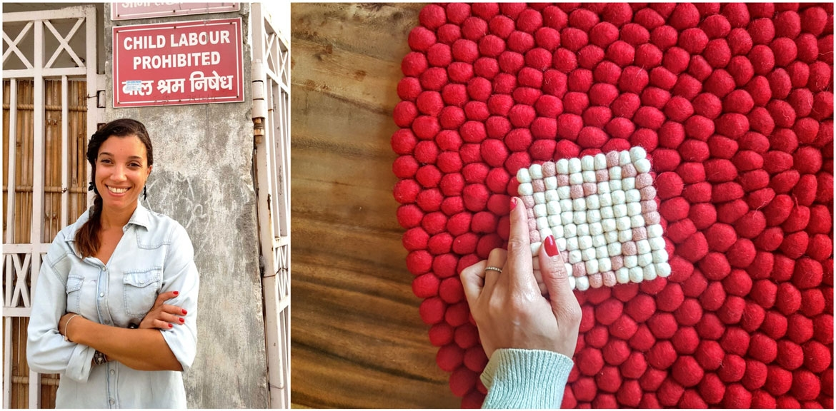 Handmade with love direct from the makers rugs from sukhi